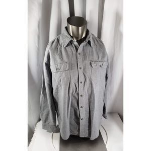 Timberland Flannel Button Up Size XL